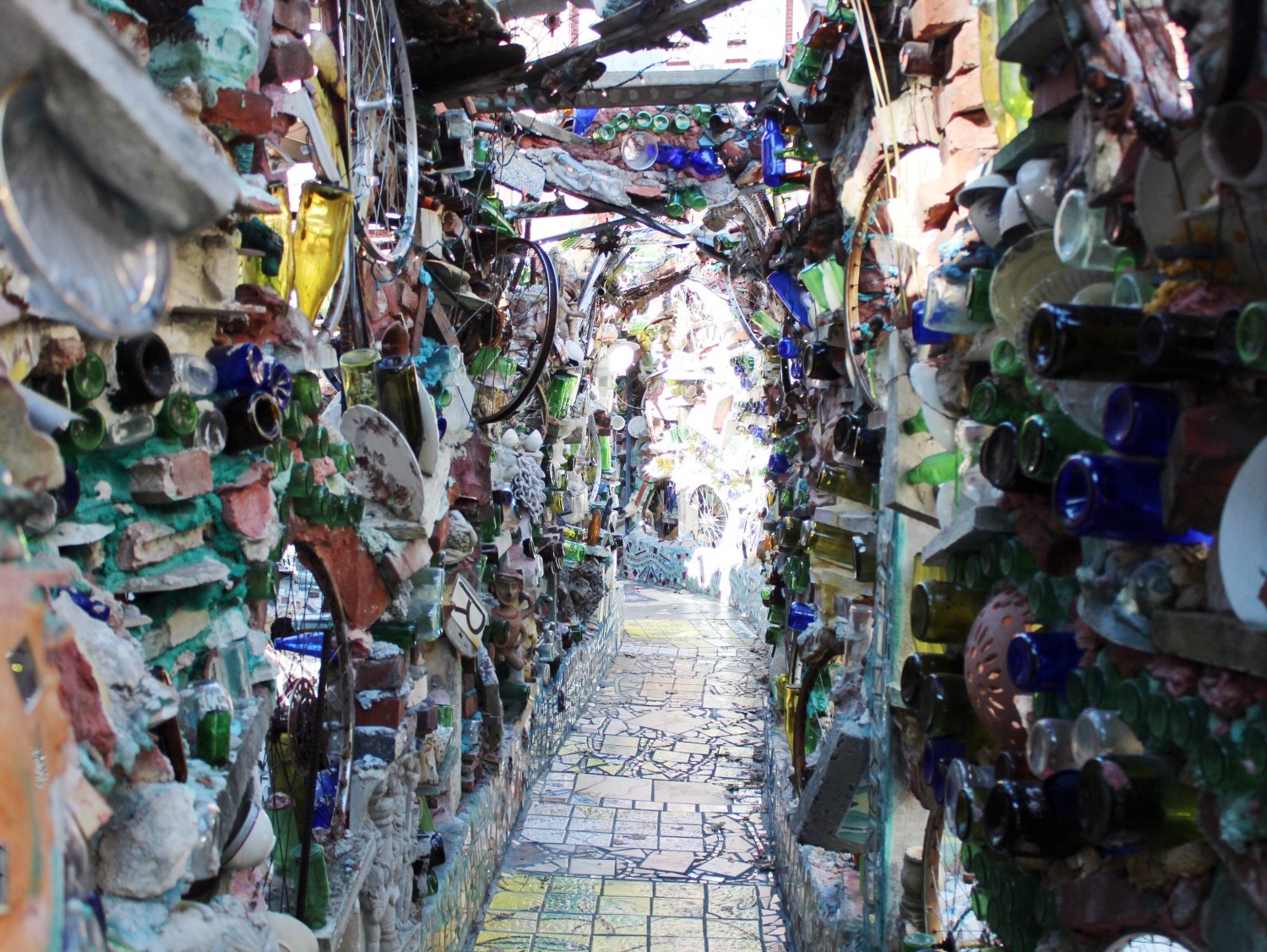 Philadelphia's Magic Gardens Glass Walls