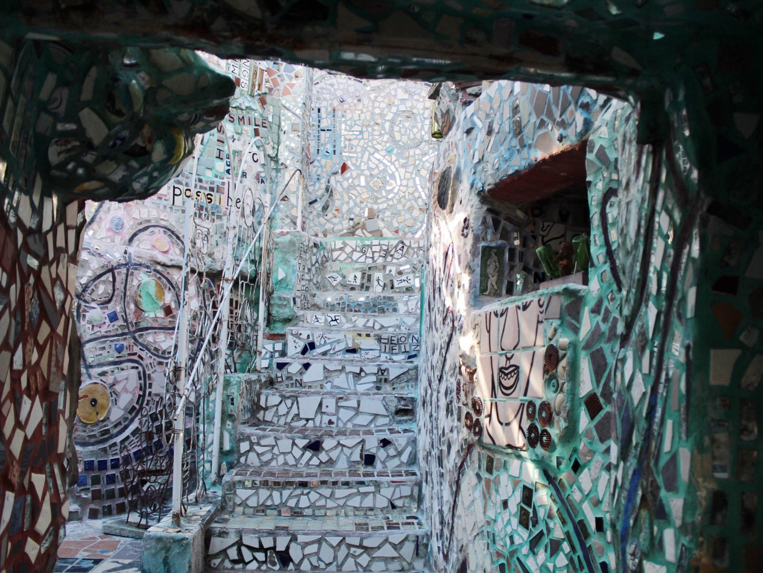 Philadelphia's Magic Gardens work of art