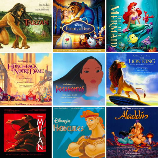 Monday's Music: The top songs from The Disney Renaissance era