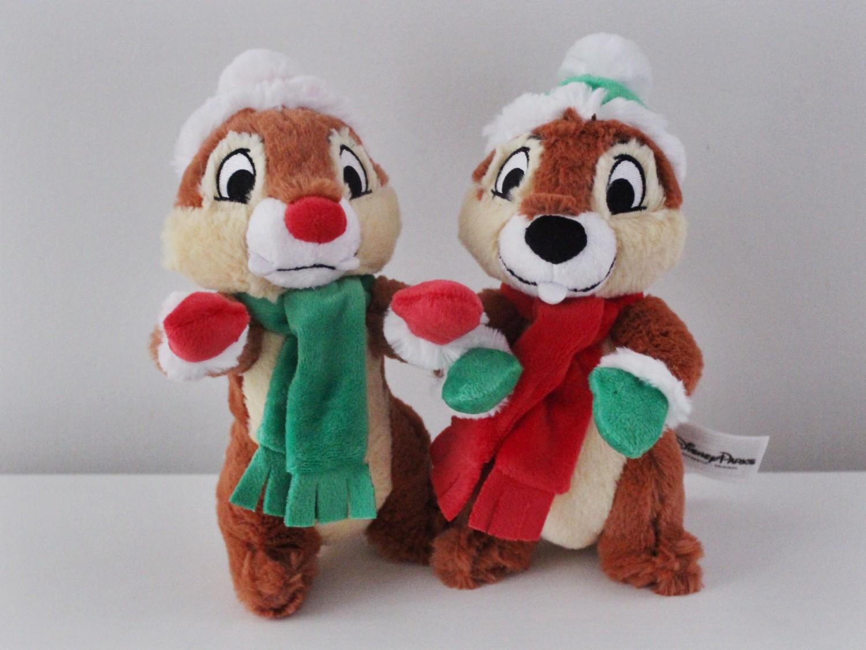 Chip 'n Dale Holiday Plush Set