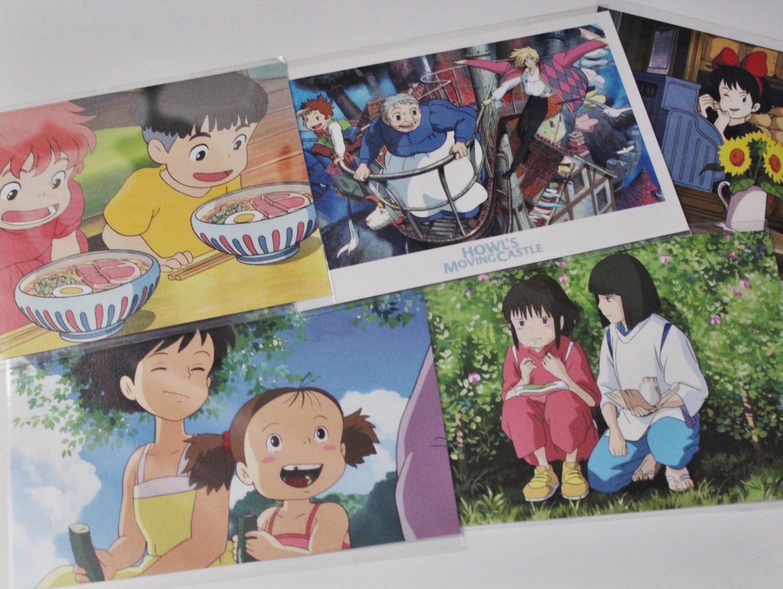 Hayao Miyazaki Postcards Epcot