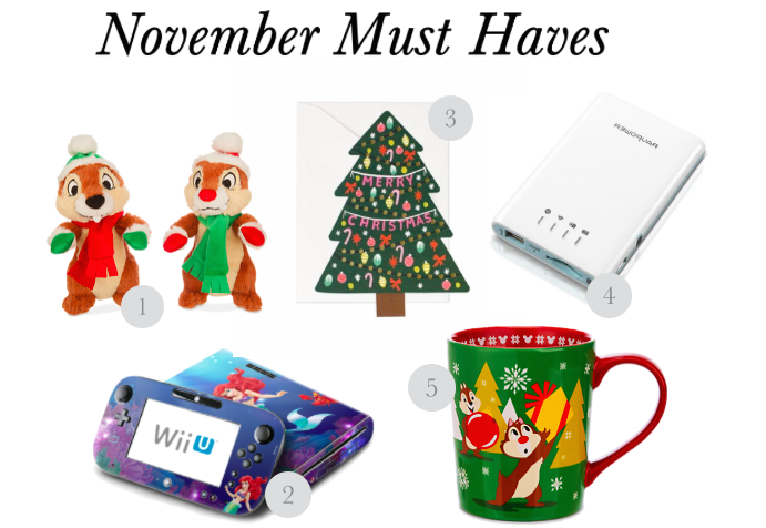 November Must Have Items
