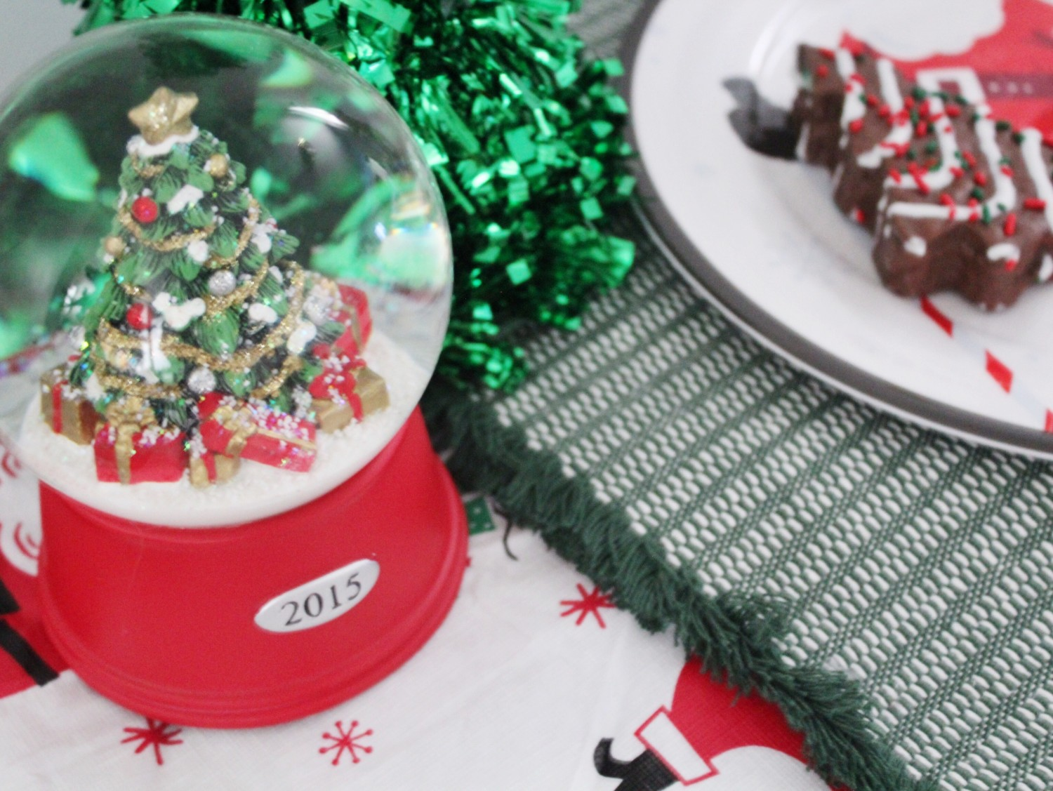 2015 Snow Globe From Target