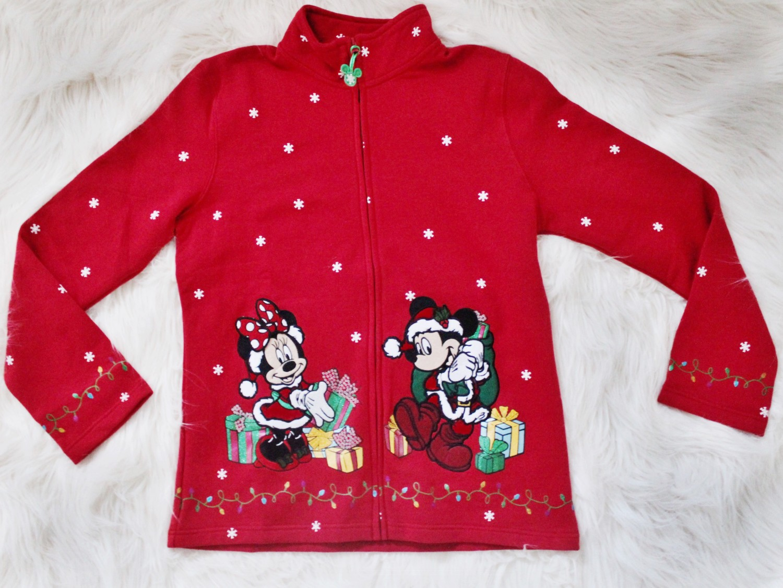Disneyland 2015 Red Holiday Jacket