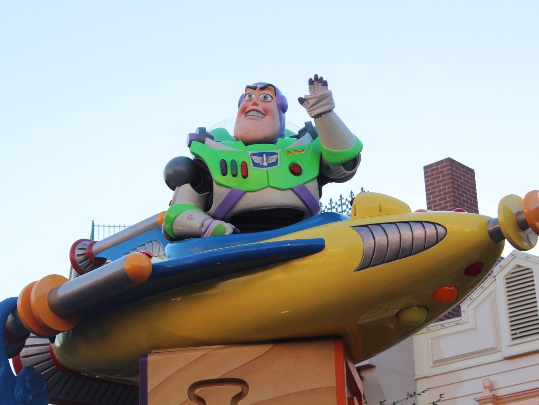 Disneyland A Christmas Fantasy Parade Buzz Lightyear