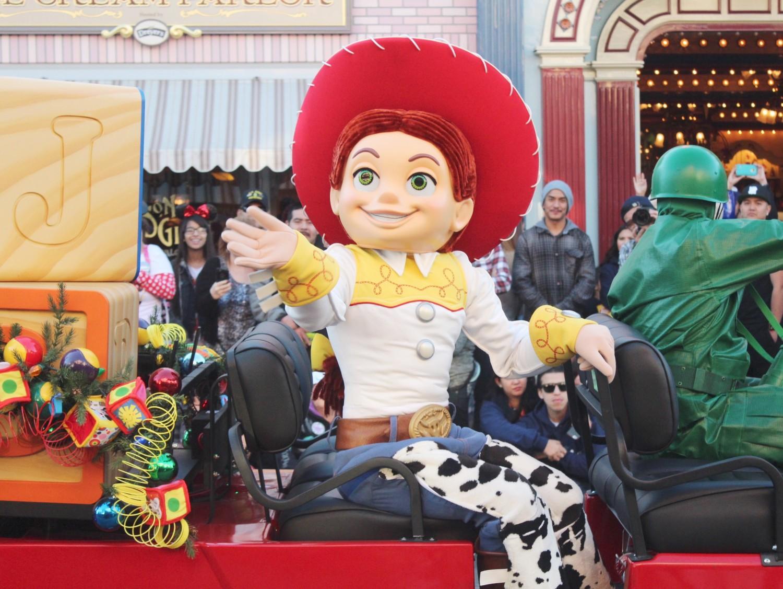 Disneyland A Christmas Fantasy Parade Jesse