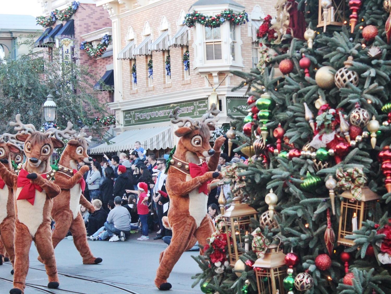 Disneyland A Christmas Fantasy Parade Reindeer