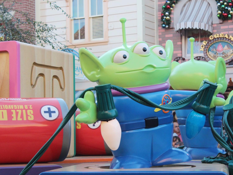 Disneyland A Christmas Fantasy Parade Toy Story