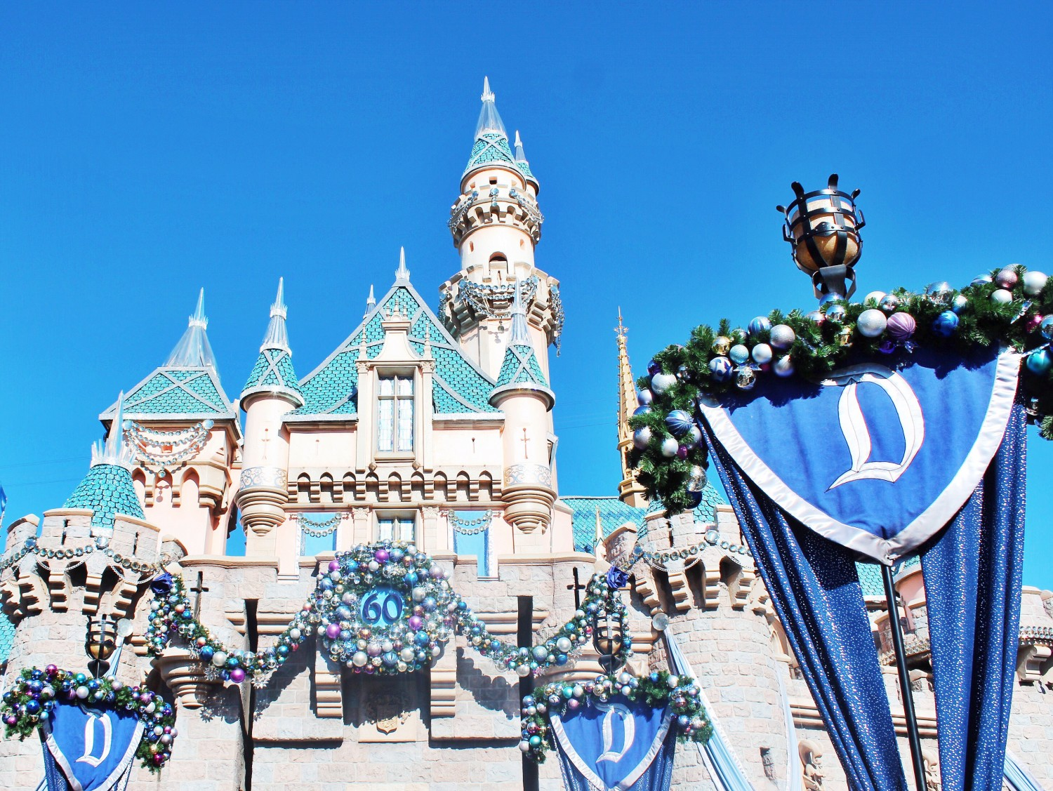 Disneyland During Christmastime