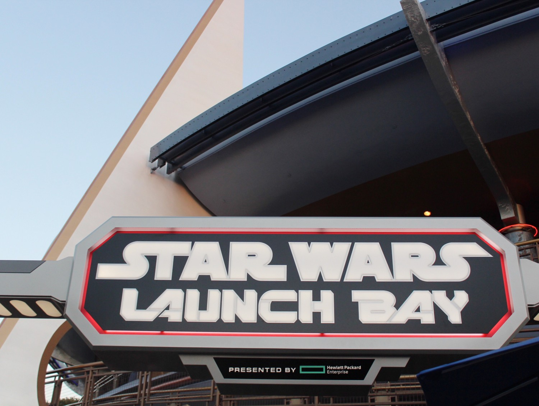 Disneyland Star Wars Launch Bay