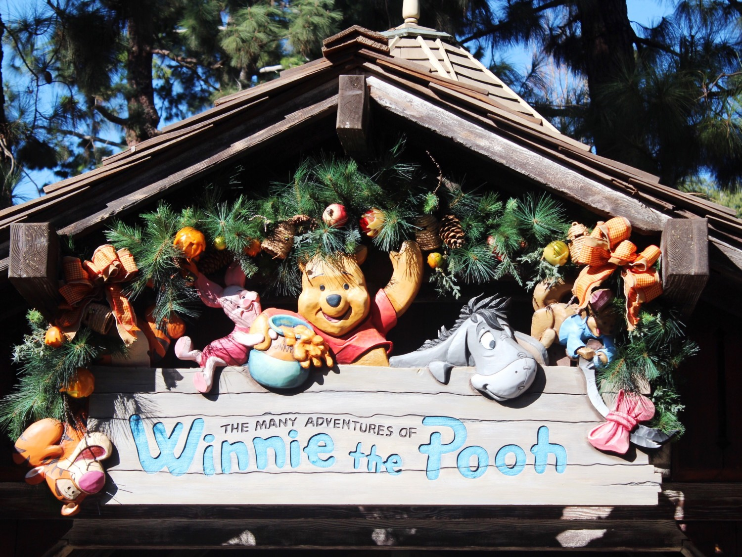 Disneyland The Many Adventures of Winnie The Pooh