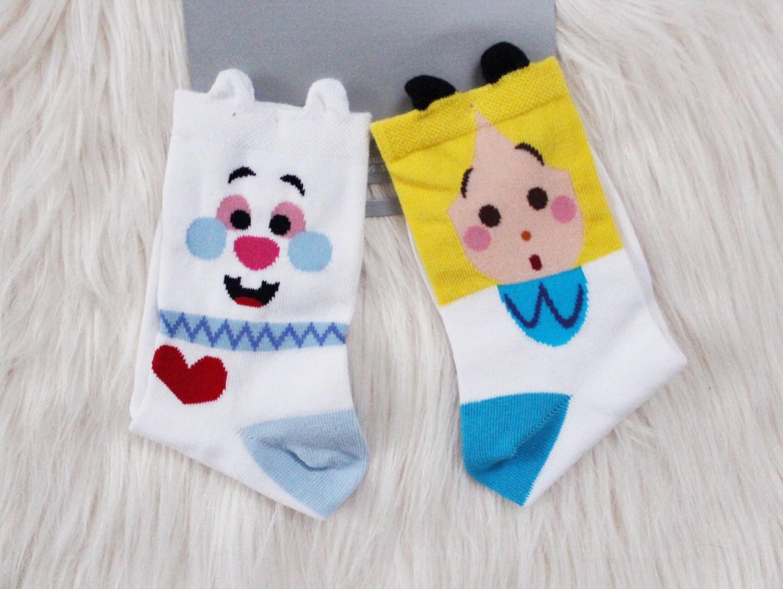 Alice in Wonderland Disney Store Socks