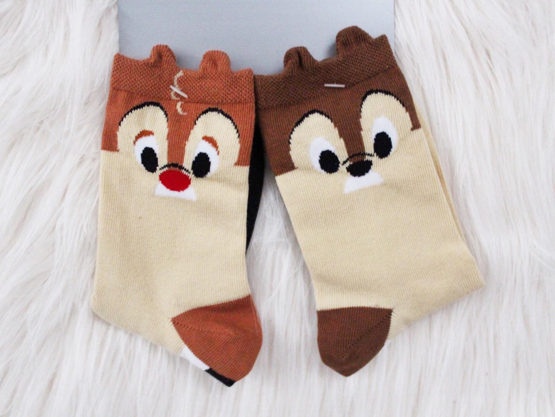 Chip n Dale Disney Socks