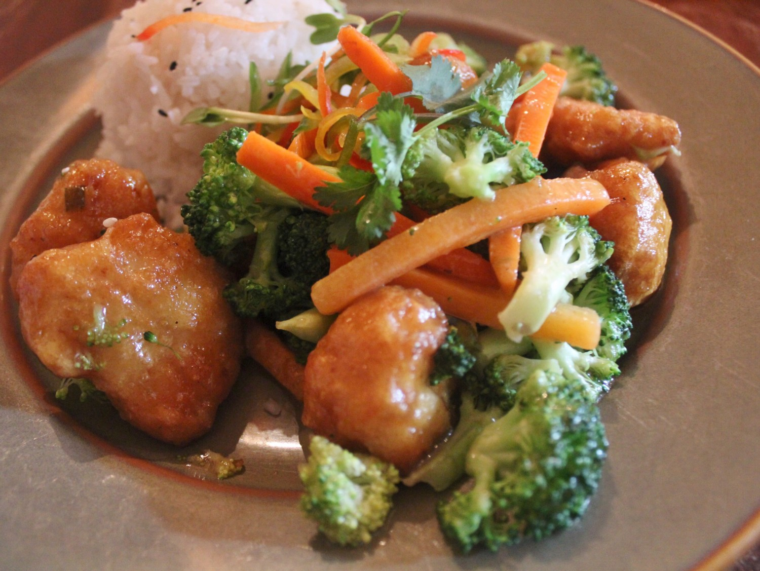 Crispy Honey Chicken Disney's Yak & Yeti