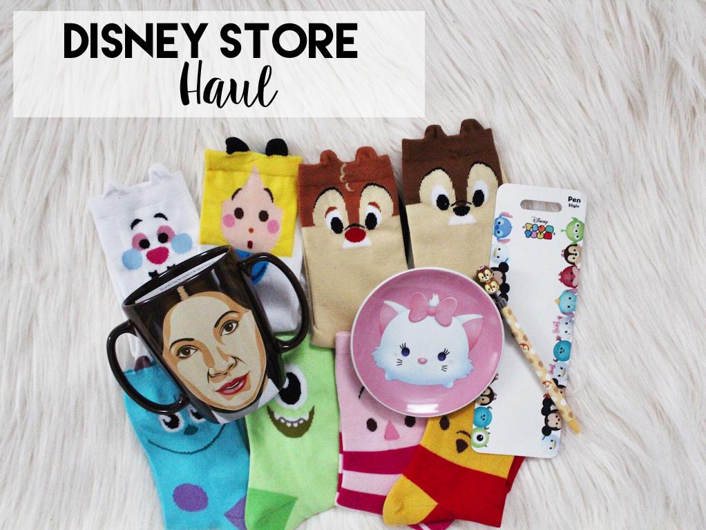 Disney Store Haul