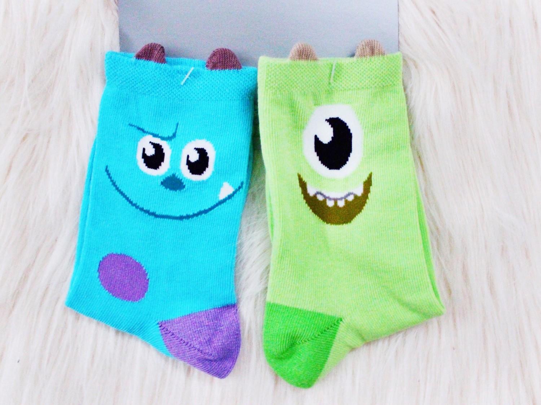Monsters Inc Disney Store Socks