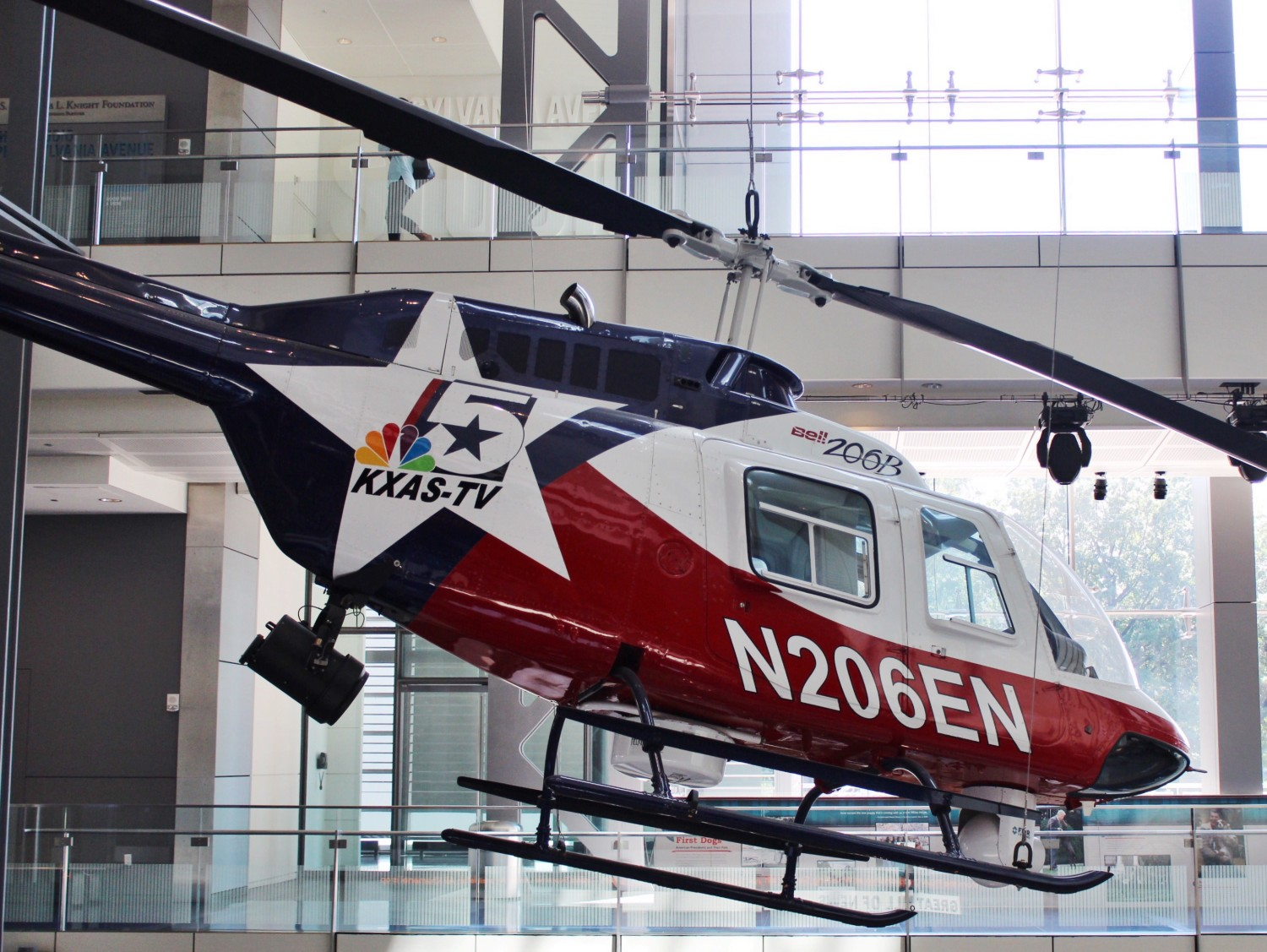 Newseum News Helicopter