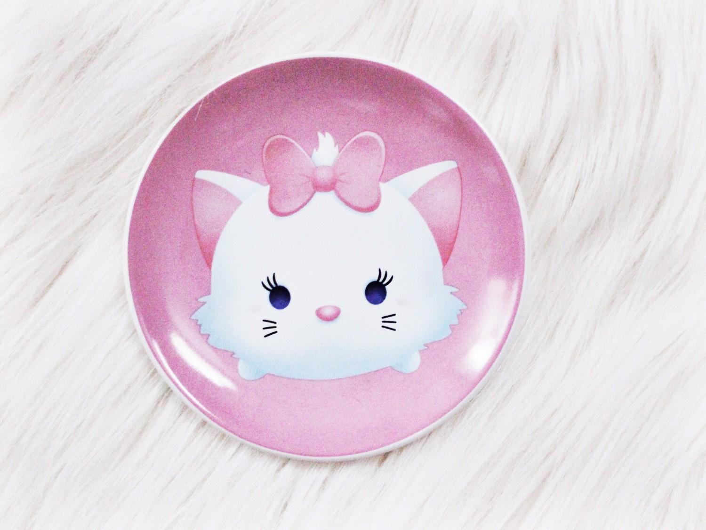 tsum tsum Marie plate