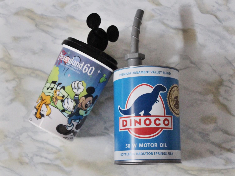 California Adventure Dinoco Motor Oil Cup