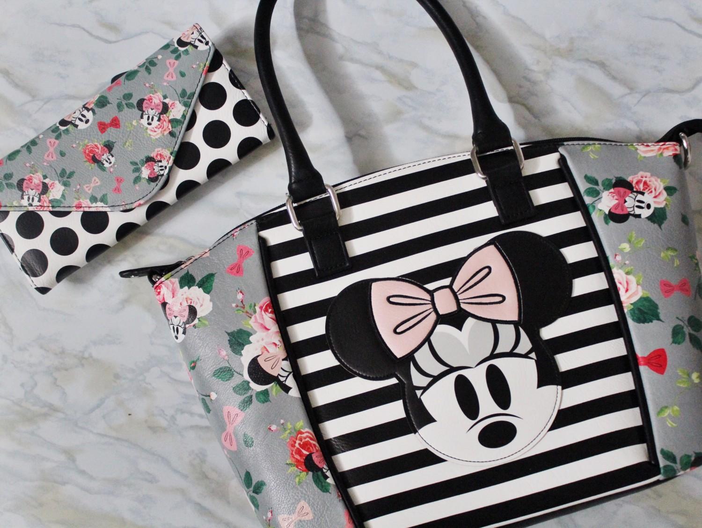 Disney Boutique Floral Minnie Purse