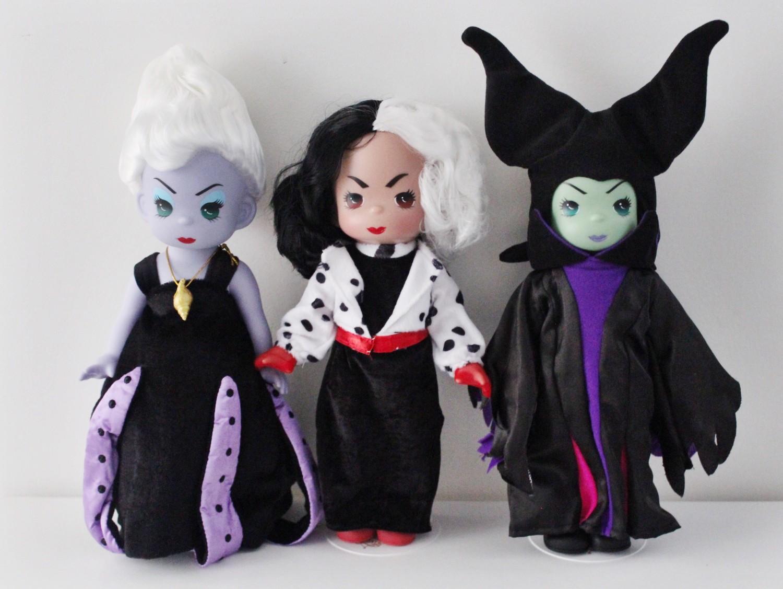Disney Precious Moments Villain Dolls