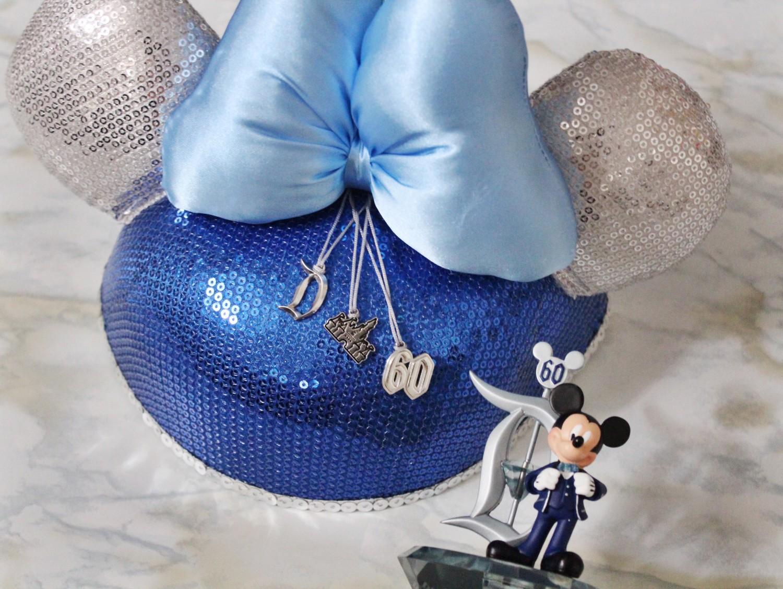 Disneyland Diamond Celebration Minnie Hat