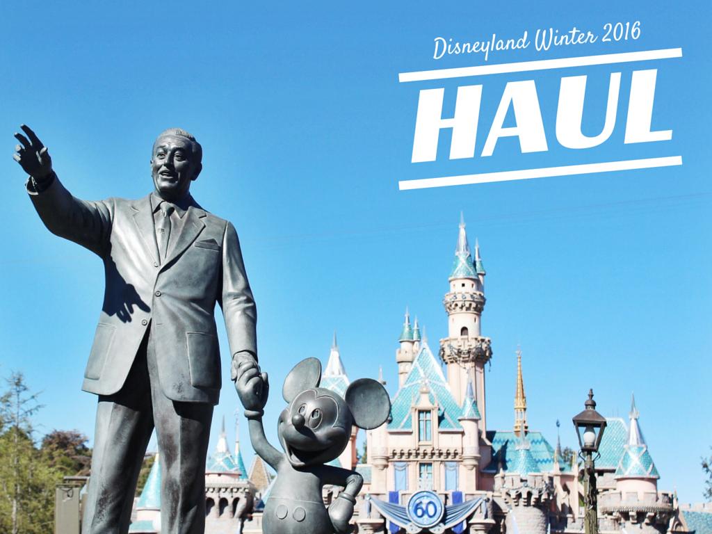 Disneyland Haul