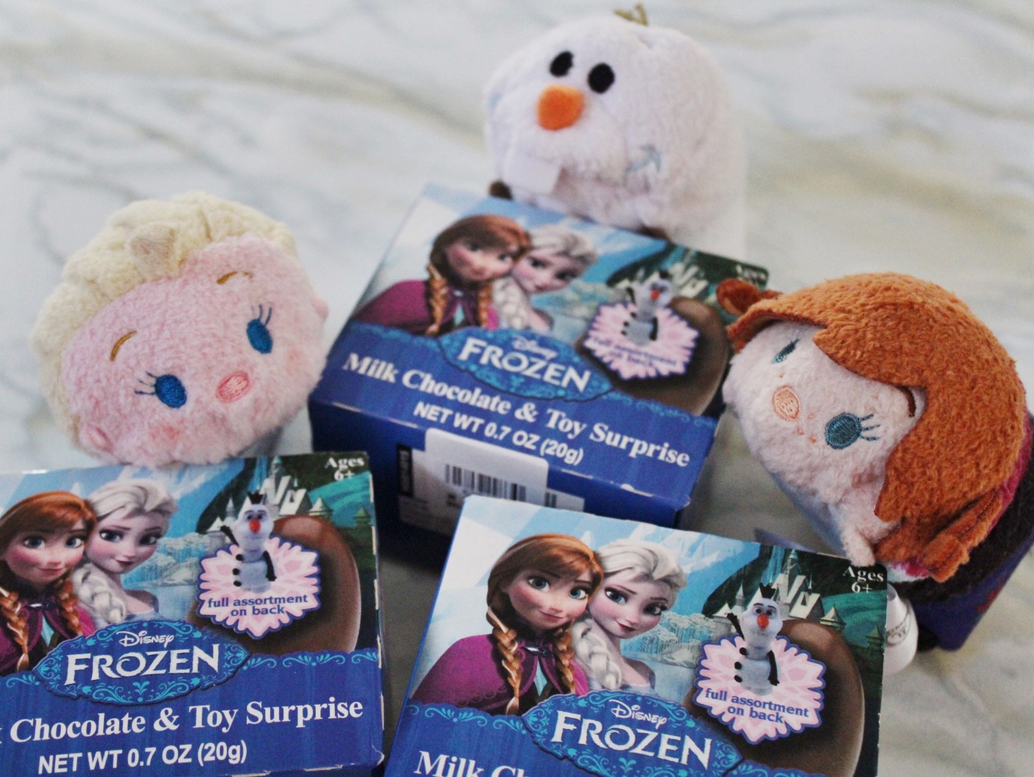 Frozen Surprise Eggs