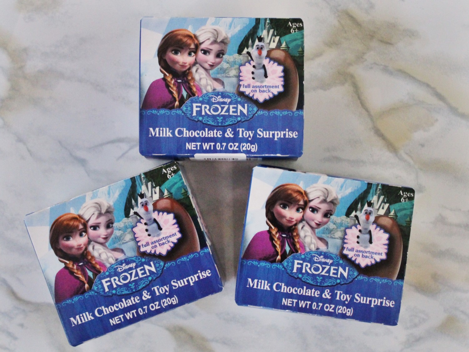 Frozen Surprise Eggs Opening