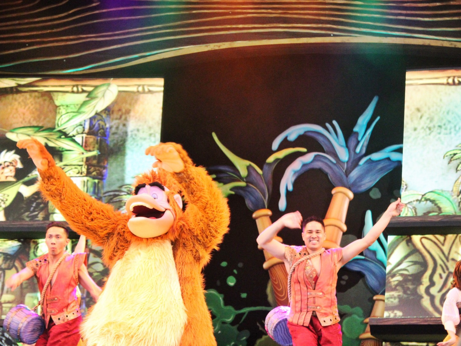 Mickey and the Magical Map King Louie