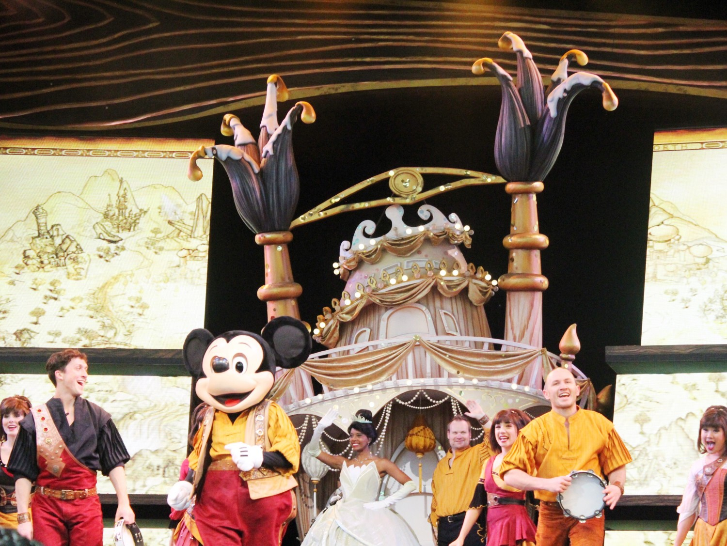 Mickey and the Magical Map Performance