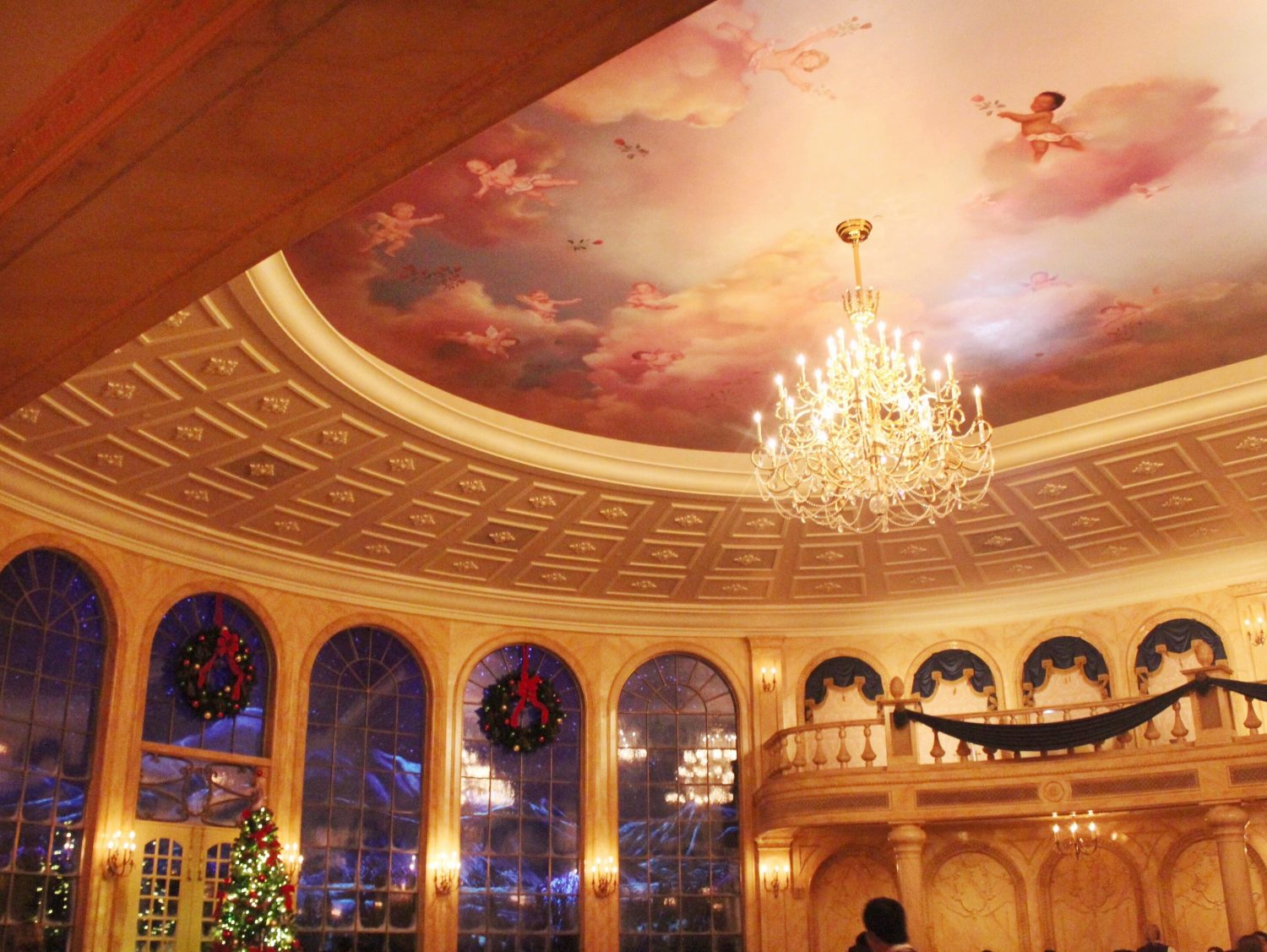 Be Our Guest Restaurant Grand Ballroom Interior