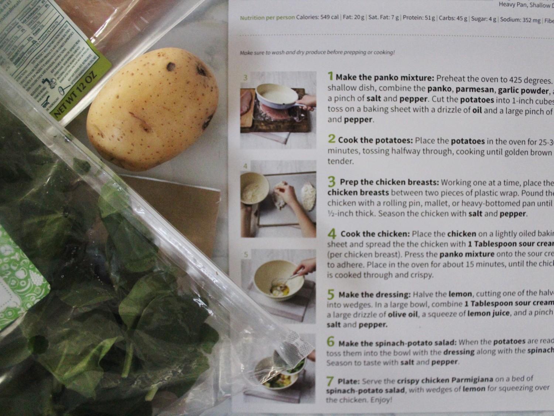 Crispy Chicken Parmigiana Salad Ingredients