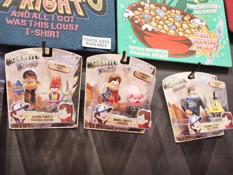 Gravity Falls toy figures