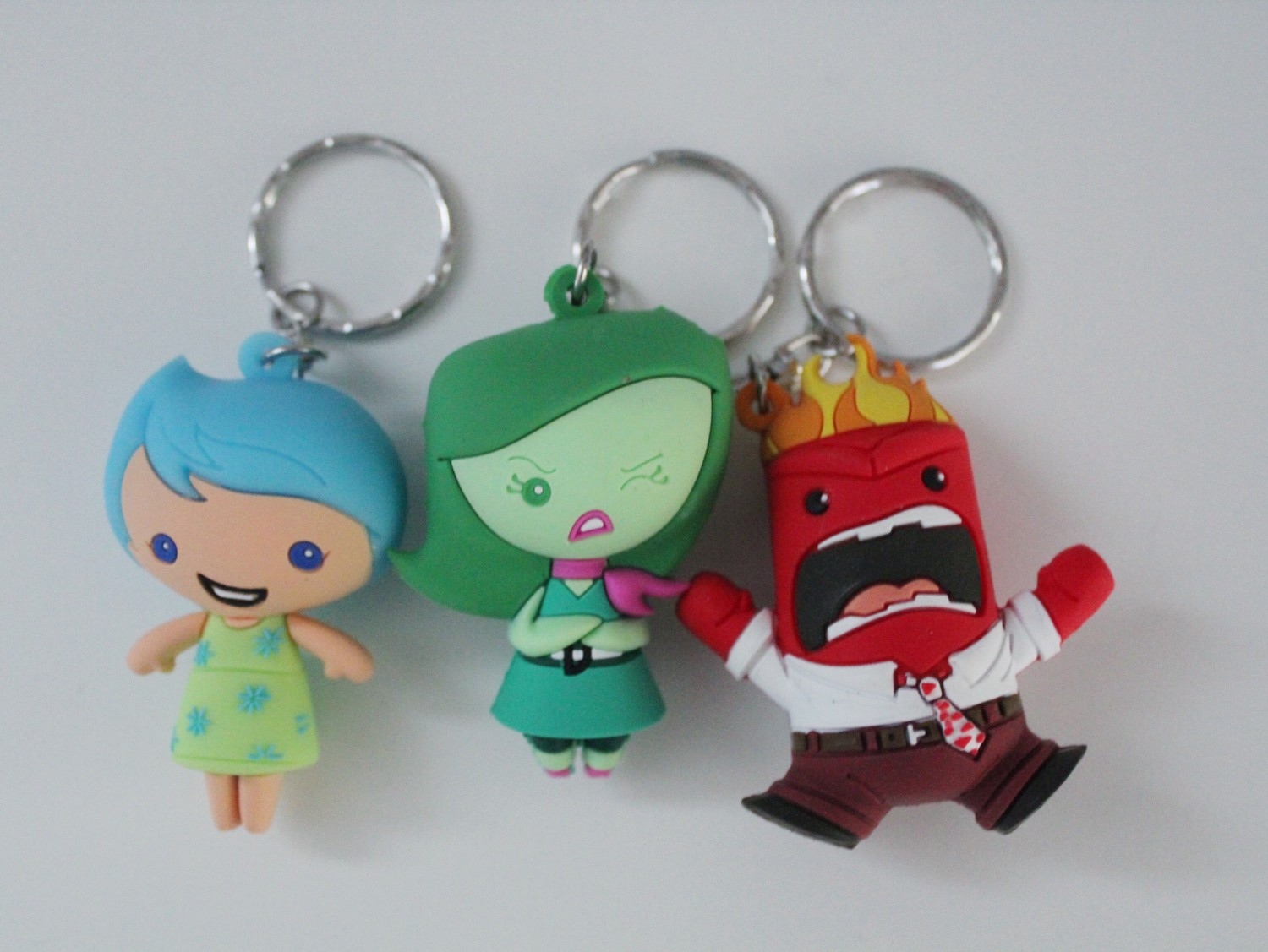 Inside Out Figural Keyring