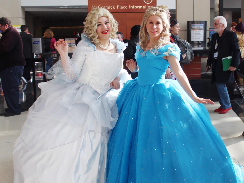 Live action Cinderella Cosplay