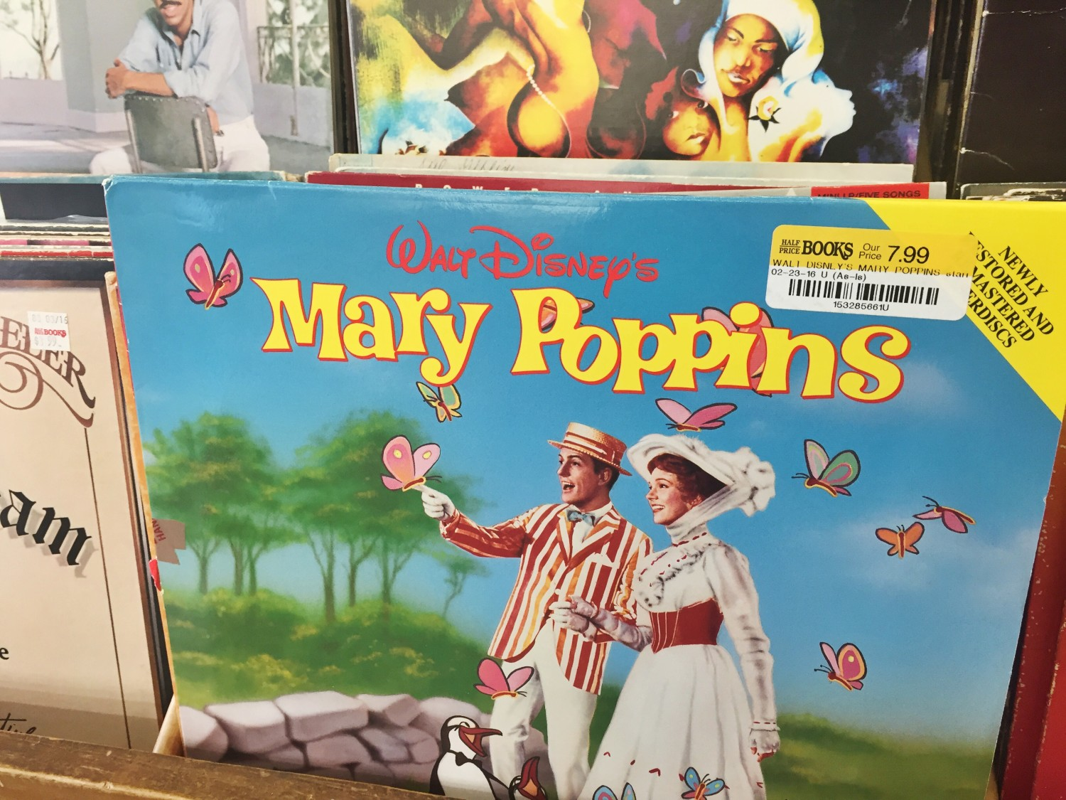 Mary Poppins Sountrack Vinyl