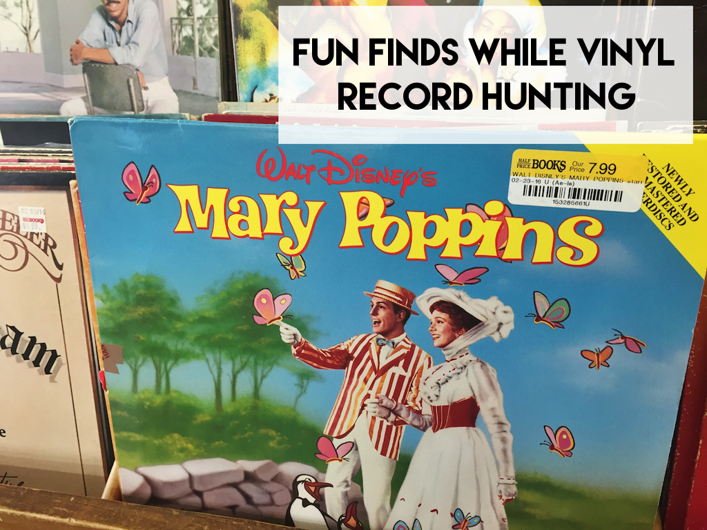 Mary Poppins Sountrack Vinyl Record