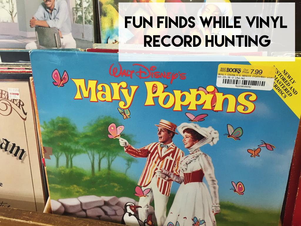 Mary Poppins Sountrack Vinyl Record