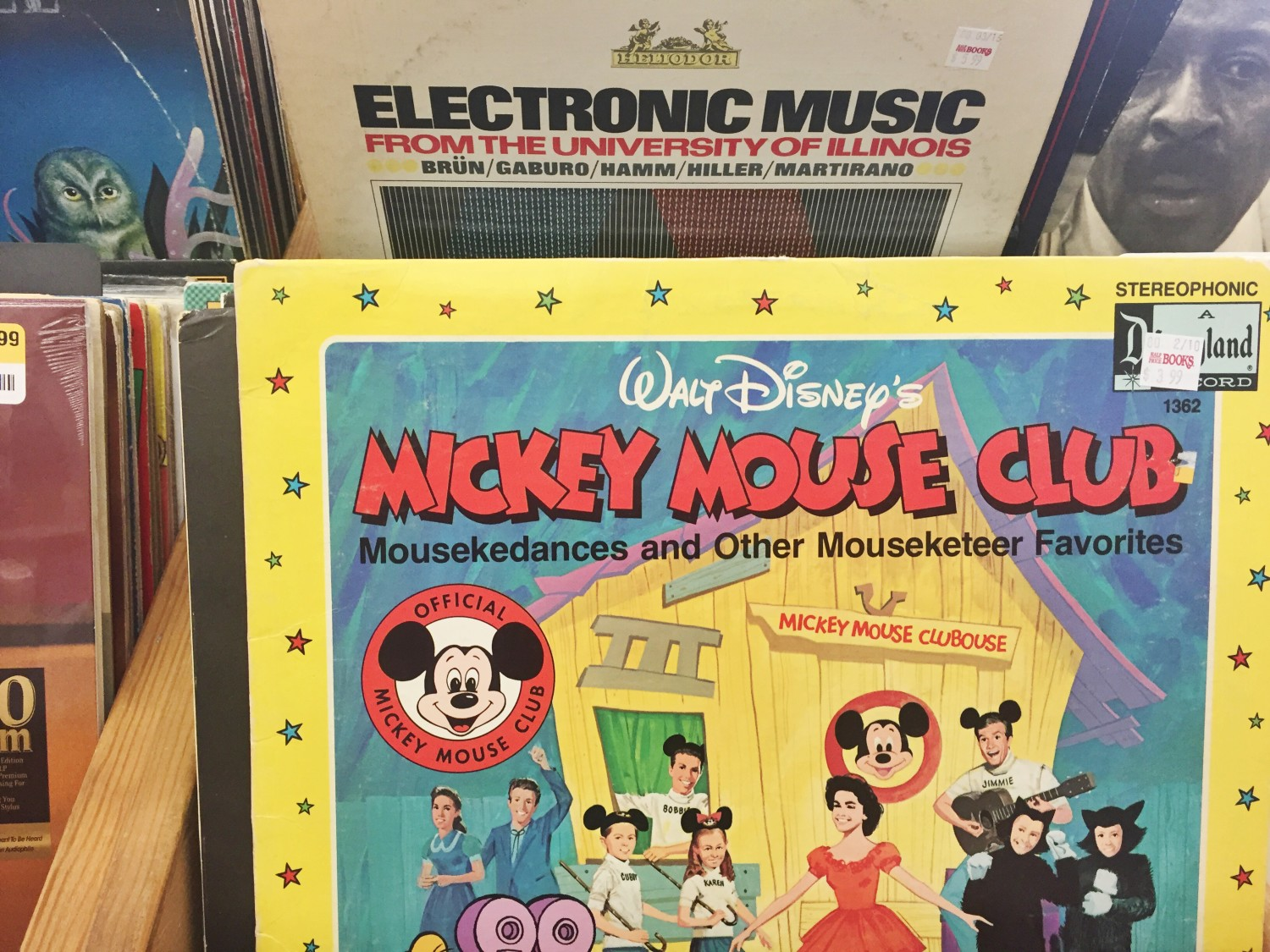 Mickey Mous Club Vinyl Record