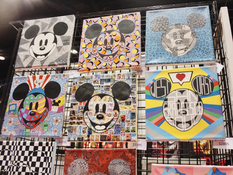 Mickey Mouse Retro Artwork