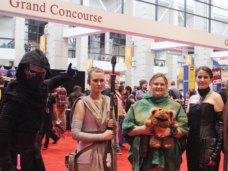 Star Wars Rey Cosplay