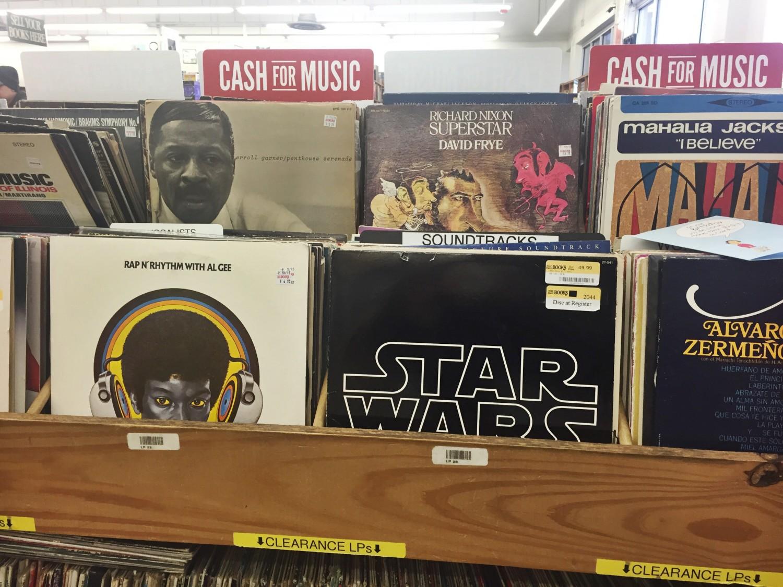Star Wars Soundtrack Vinyl Record
