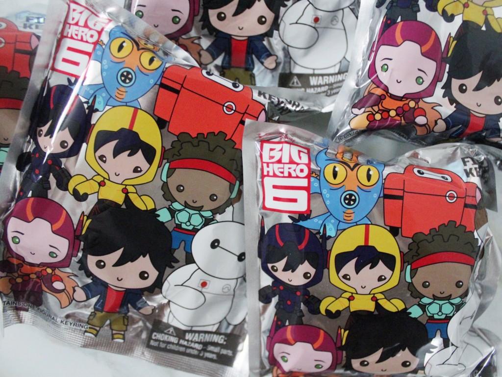 Blind Box Amp Bag Roundup 28 Big Hero 6 Figural Keyrings
