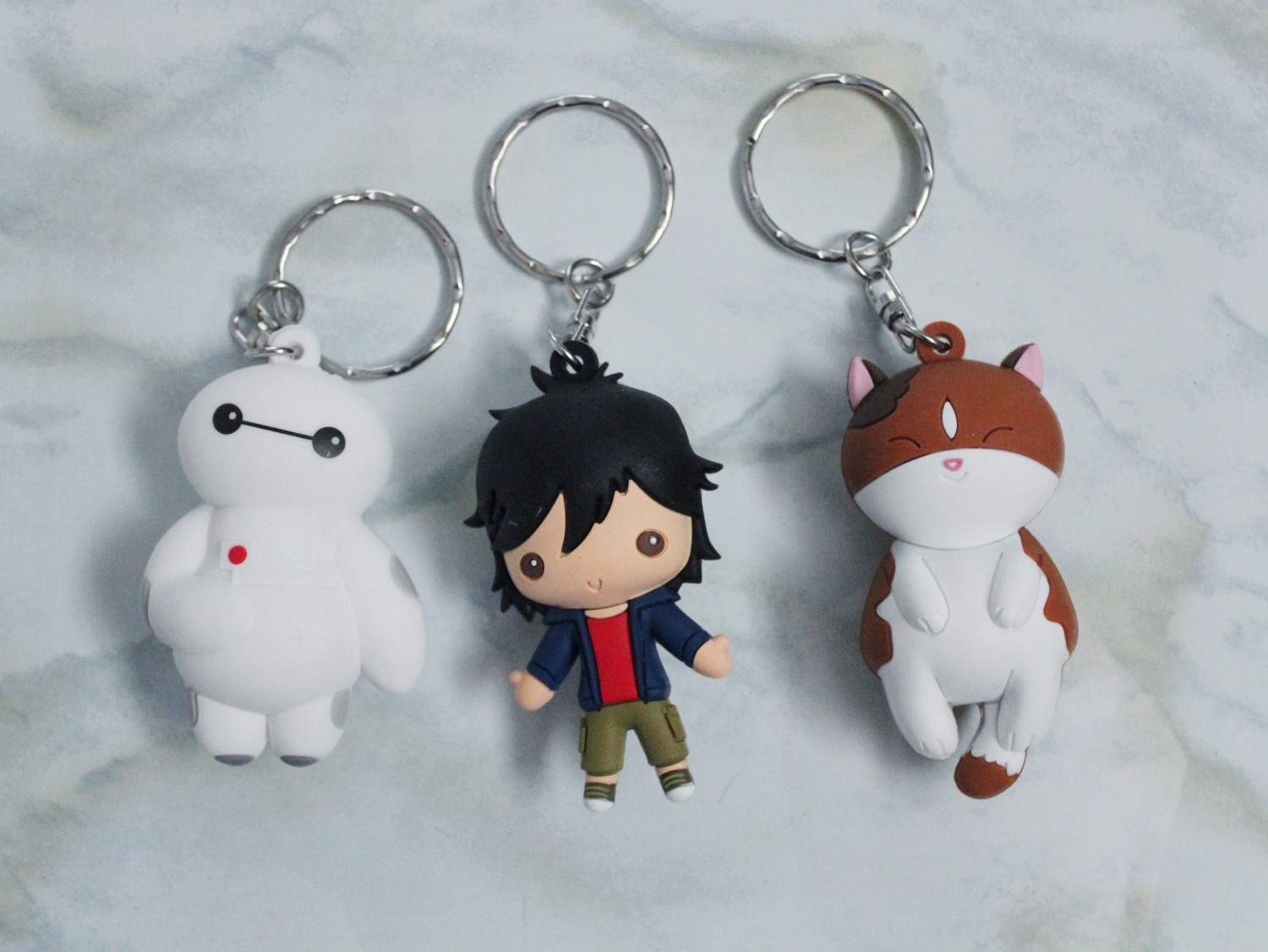 Blind Box Amp Bag Roundup 28 Big Hero 6 Figural Keyrings