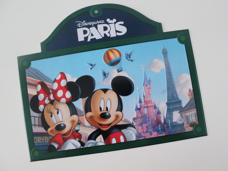 Disneyland Paris License Plate