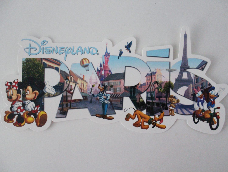 Disneyland Paris Postcard