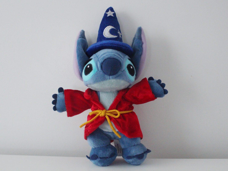 Disneyland Paris Sorcerer Stitch Plush