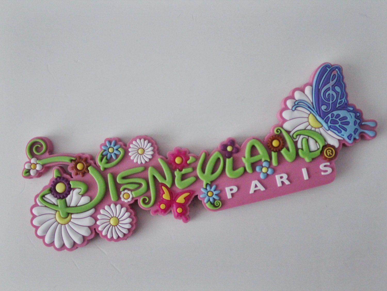 Disneyland Paris Spring Magnet