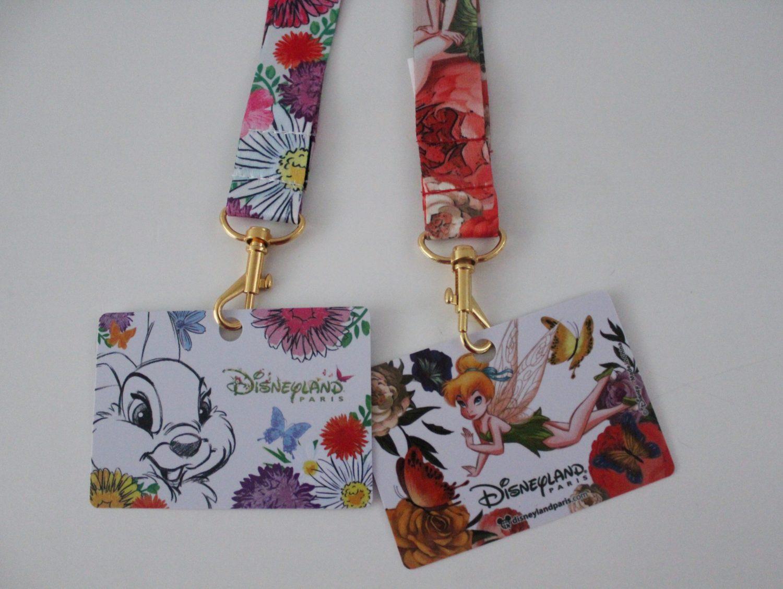 Disneyland Paris Tinker Bell Lanyard